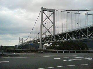 おなじみ関門橋